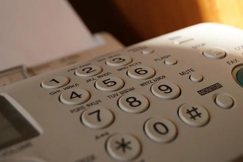 Online fax